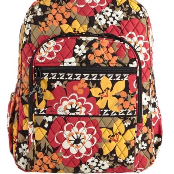 Vera Bradley Campus Backpack in Bittersweet ed99ca61cf4f6